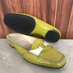 Cole Haan Nike Air green loafer slides flats